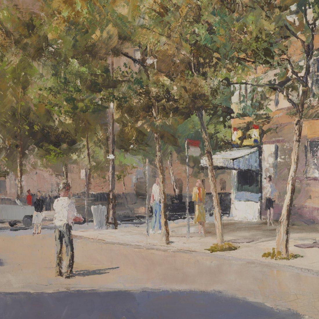 Peter Hayward, (2) paintings - 6