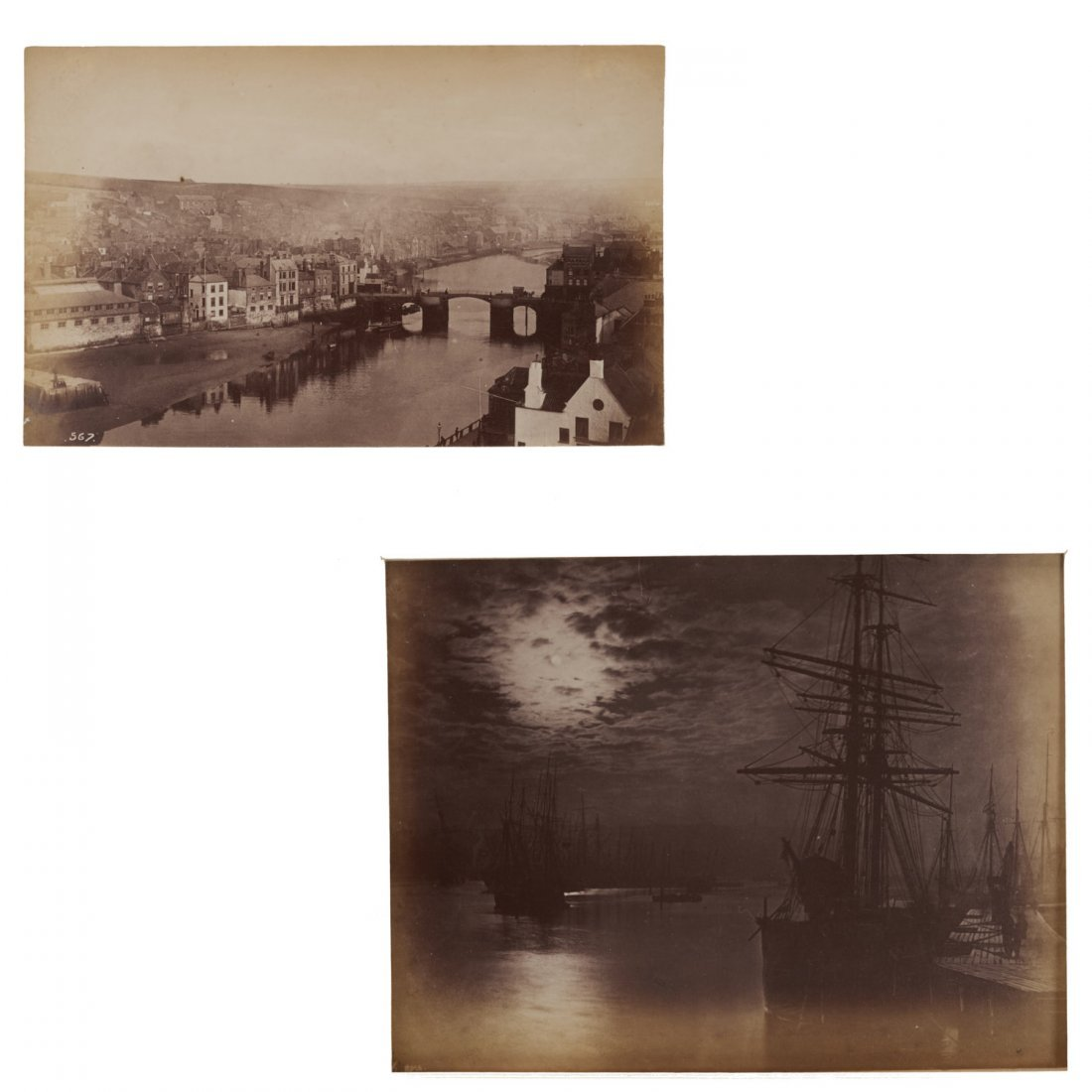 Frank Meadow Sutcliffe, (2) photographic prints