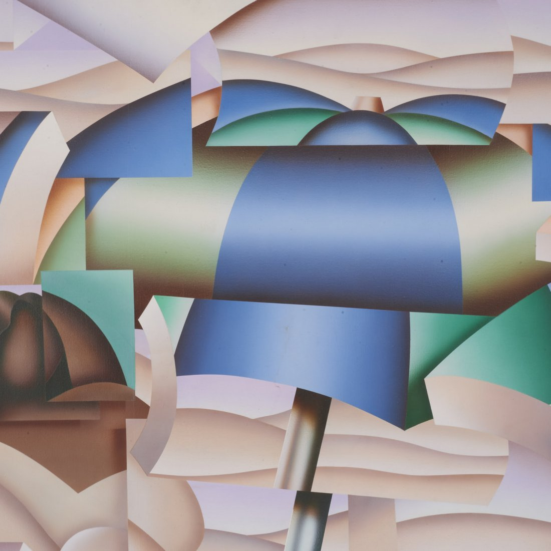 Jack Brusca, painting - 2