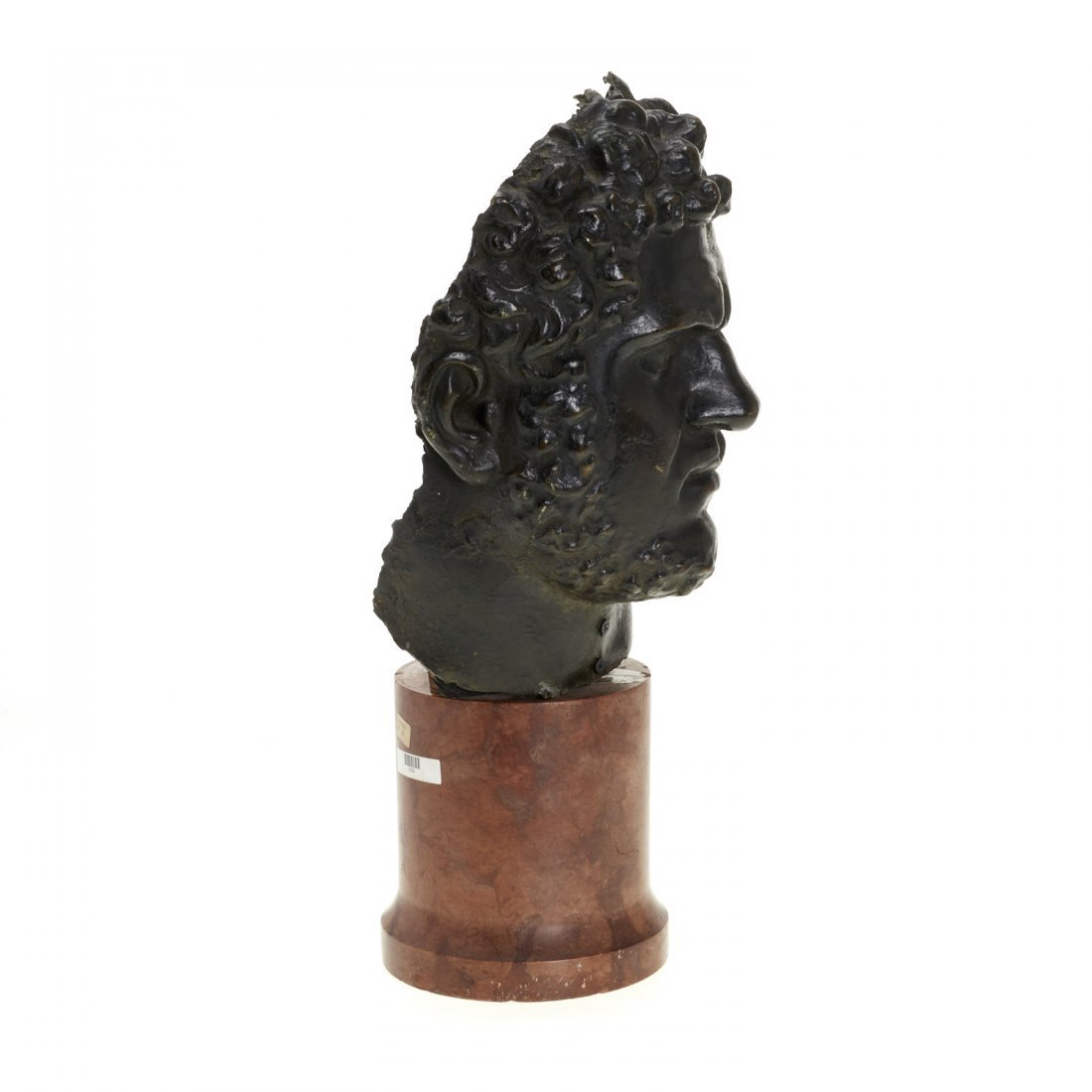 Italian School, patinated bronze bust - 3