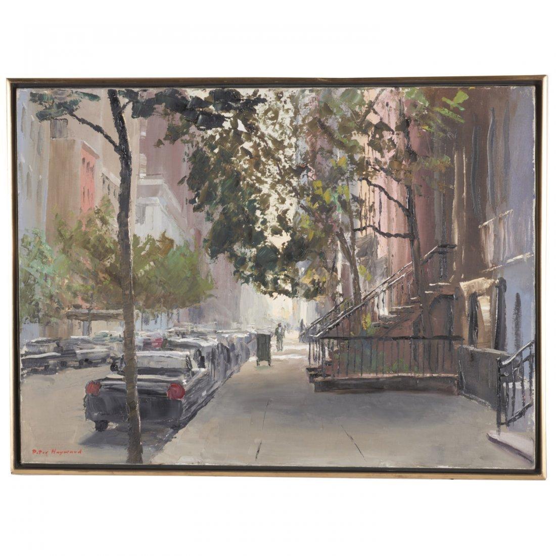Peter Hayward, painting