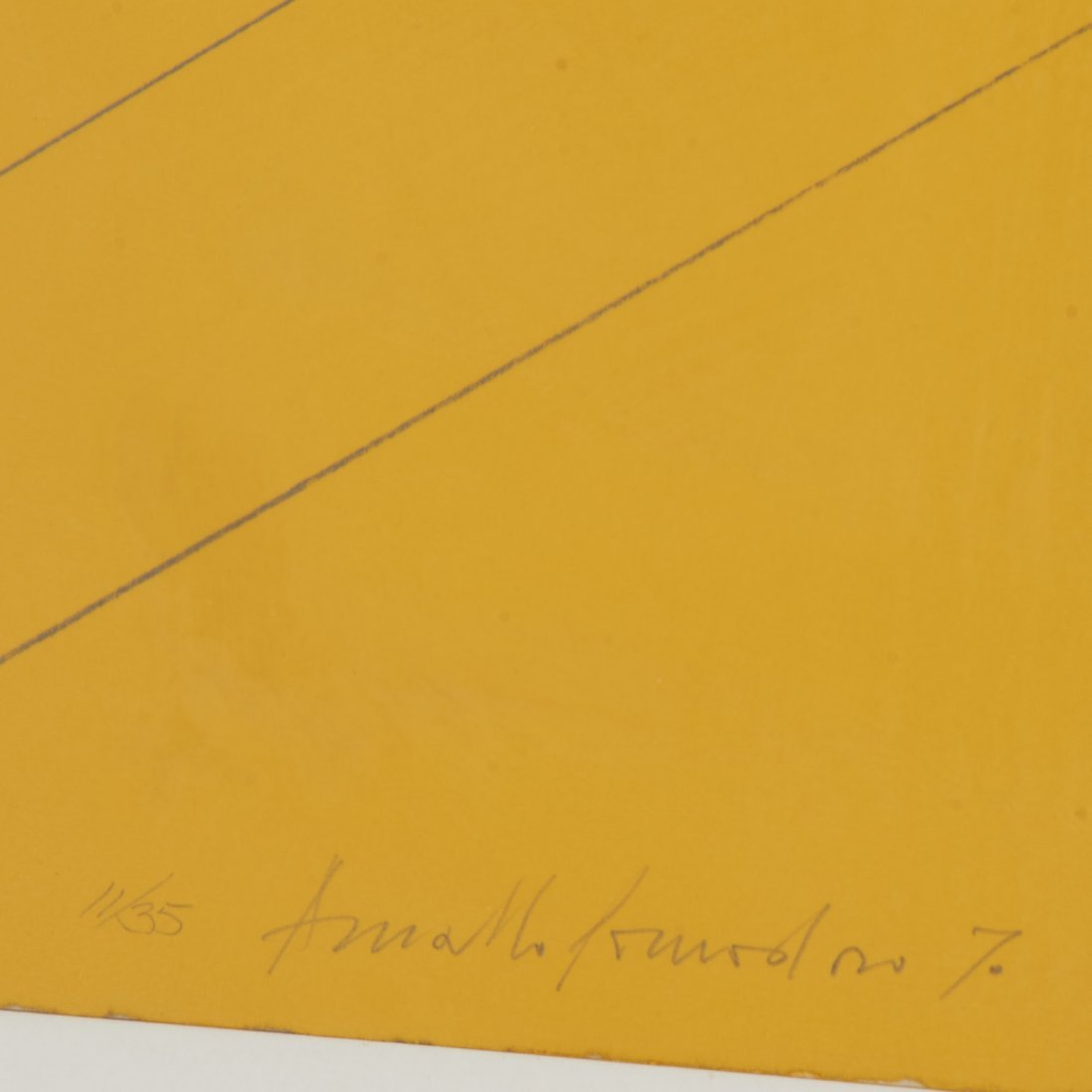 Arnaldo Pomodoro, lithograph - 3