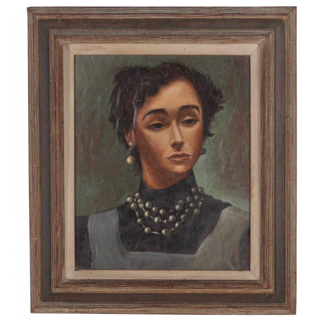 Julio de Diego, painting