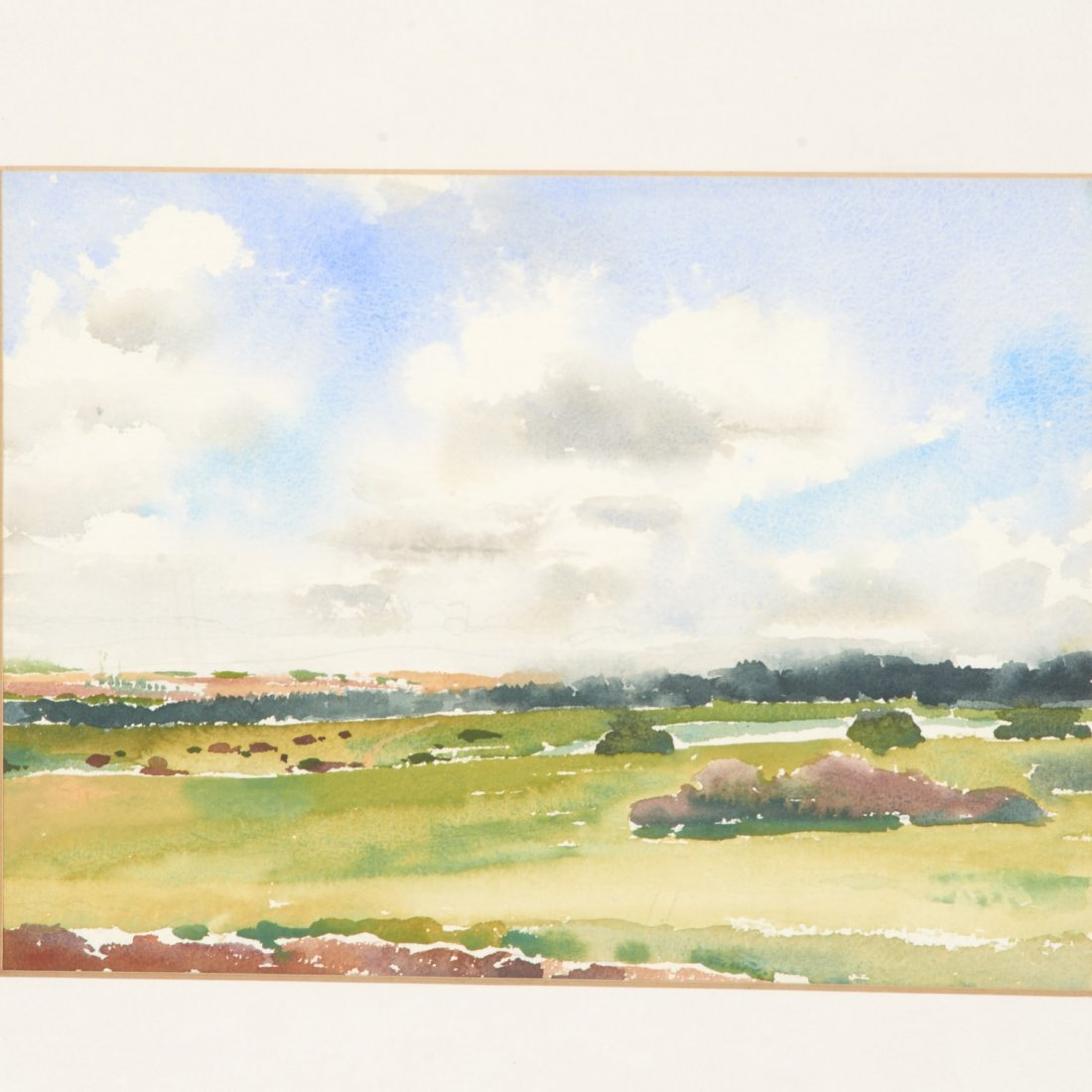 Sheila Girling, watercolor painting - 2