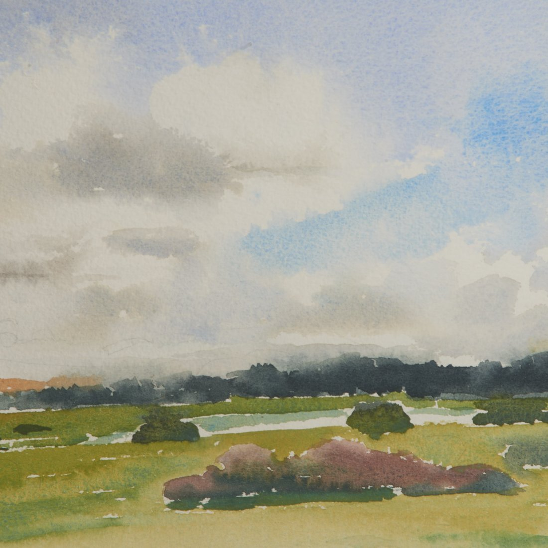 Sheila Girling, watercolor painting - 3