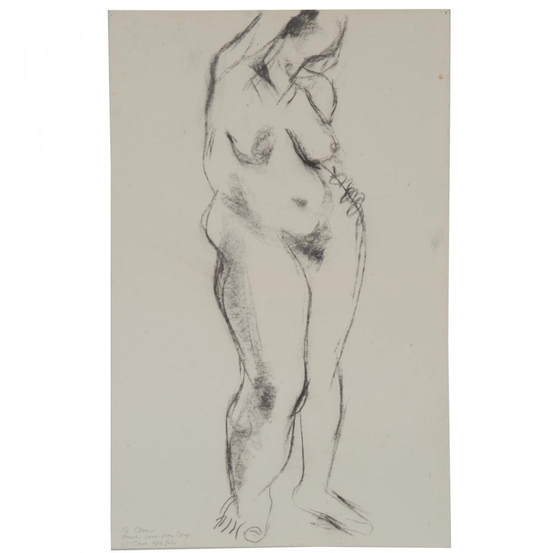 Anthony Caro, drawing