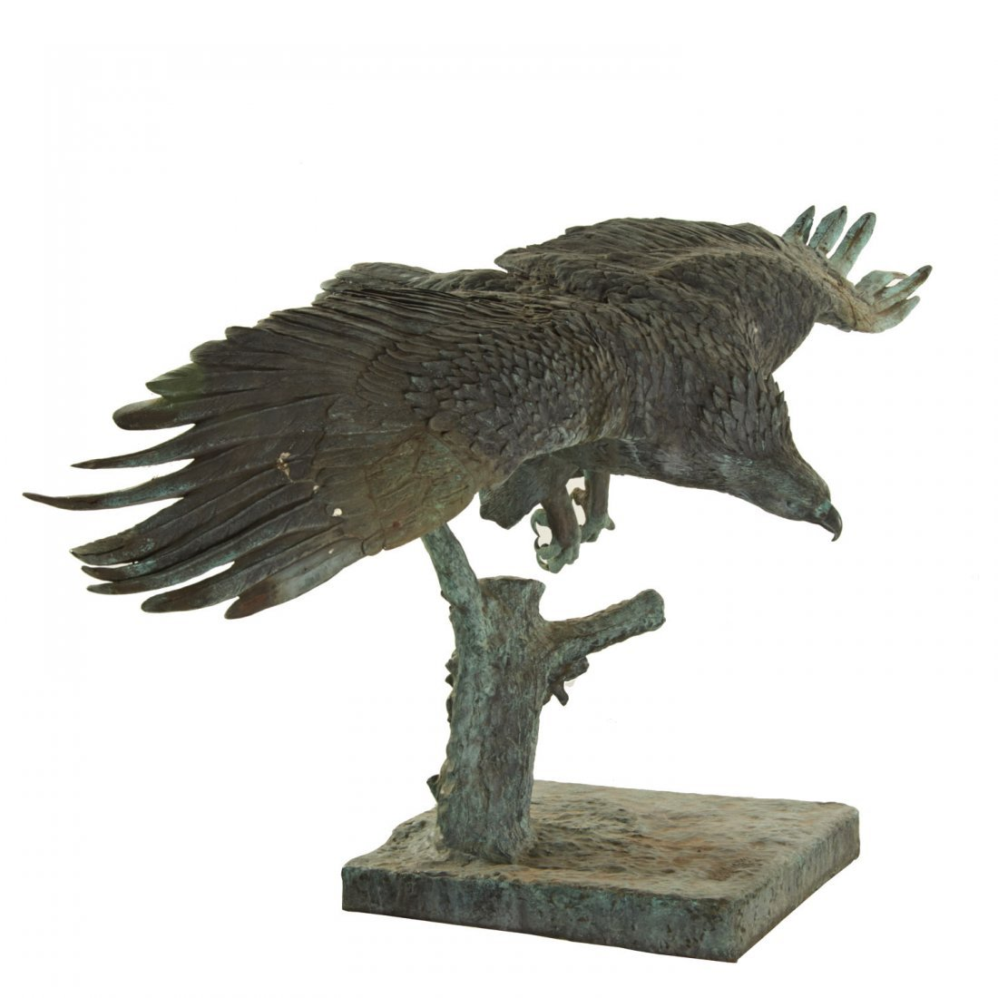 A.B. Burton Foundry, monumental bronze eagle