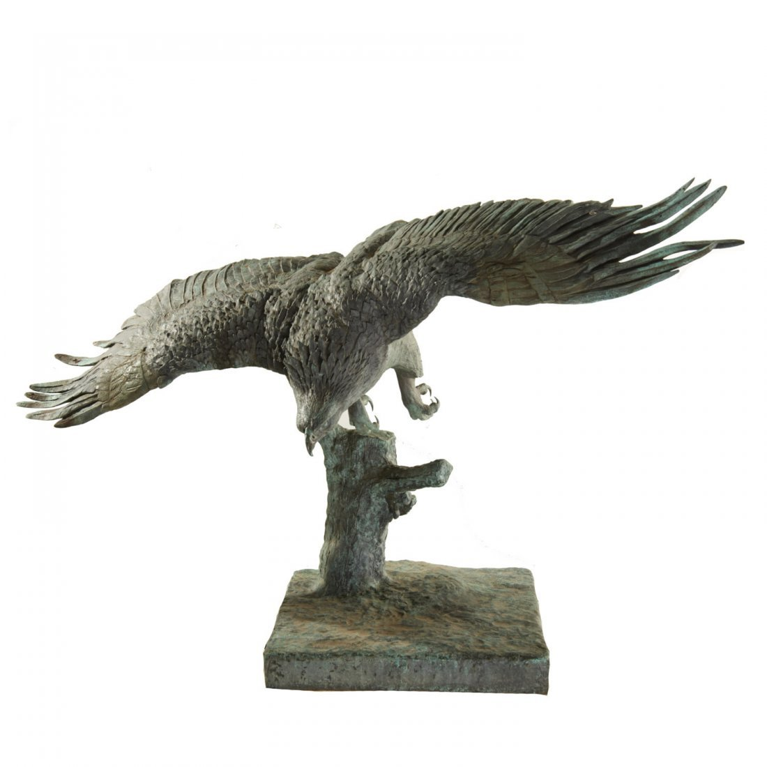 A.B. Burton Foundry, monumental bronze eagle - 2
