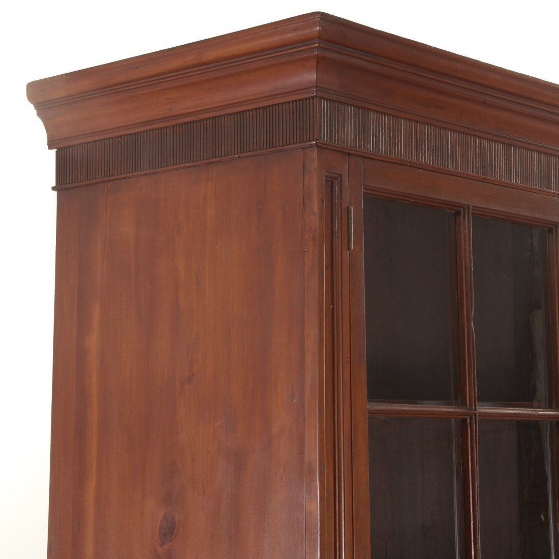 American Federal cherrywood bookcase cabinet - 3