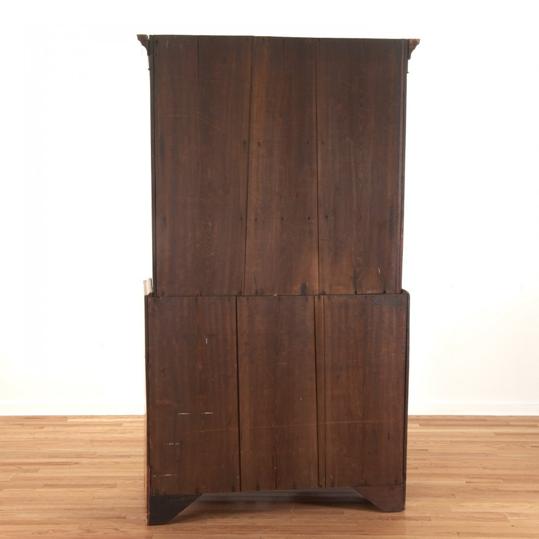 American Federal cherrywood bookcase cabinet - 8