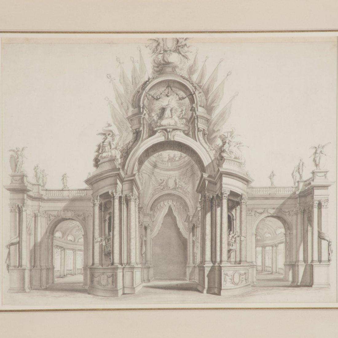 Vincenz Fischer, architectural rendering - 2
