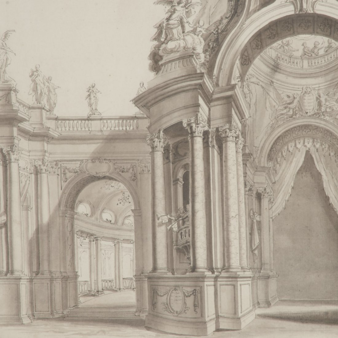 Vincenz Fischer, architectural rendering - 3