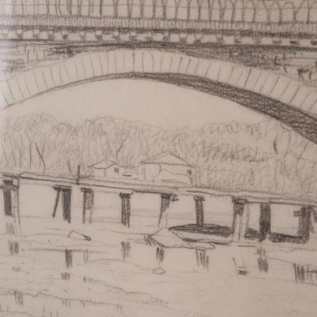 Felix Edouard Vallotton, drawing - 4