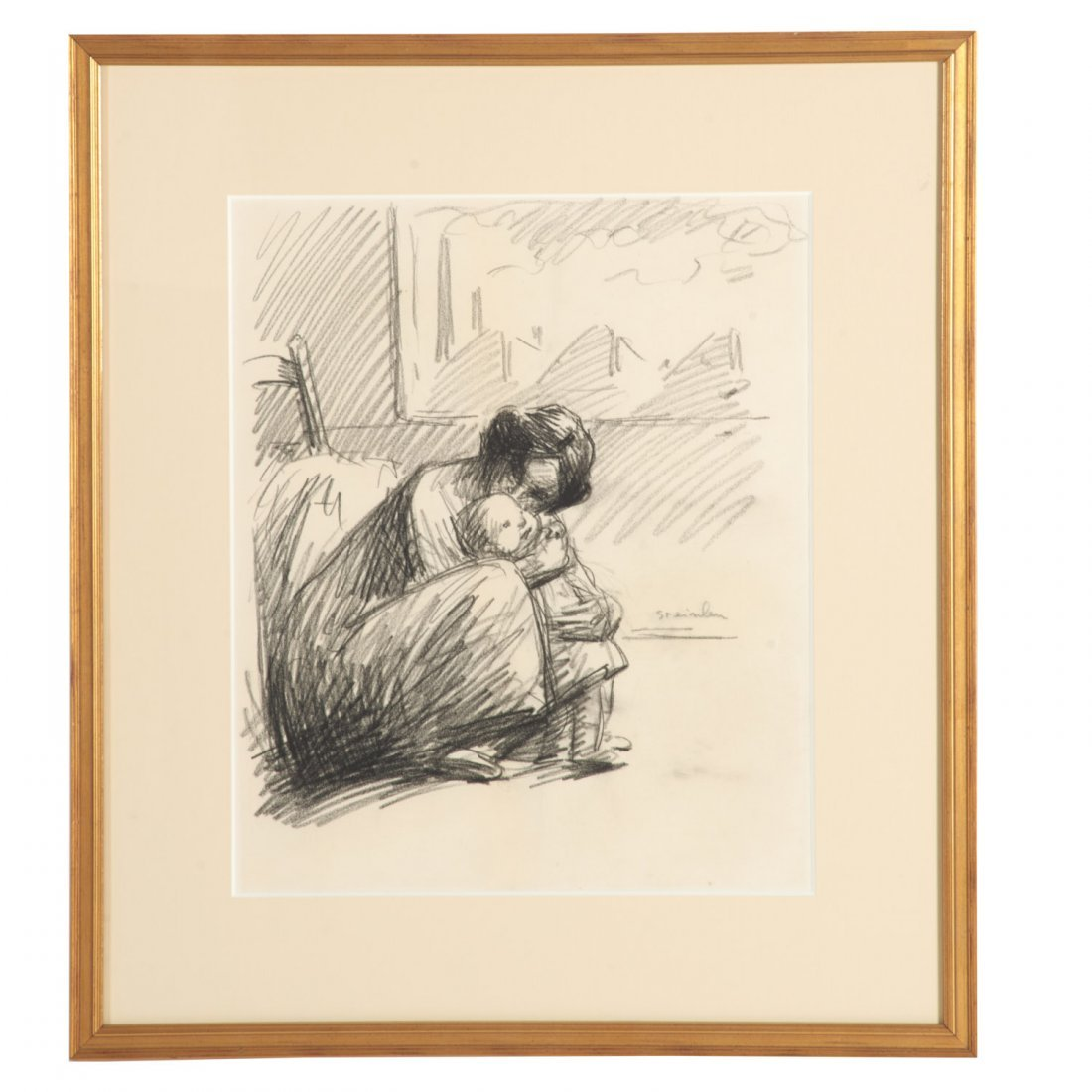 Theophile Alexandre Steinlen, drawing