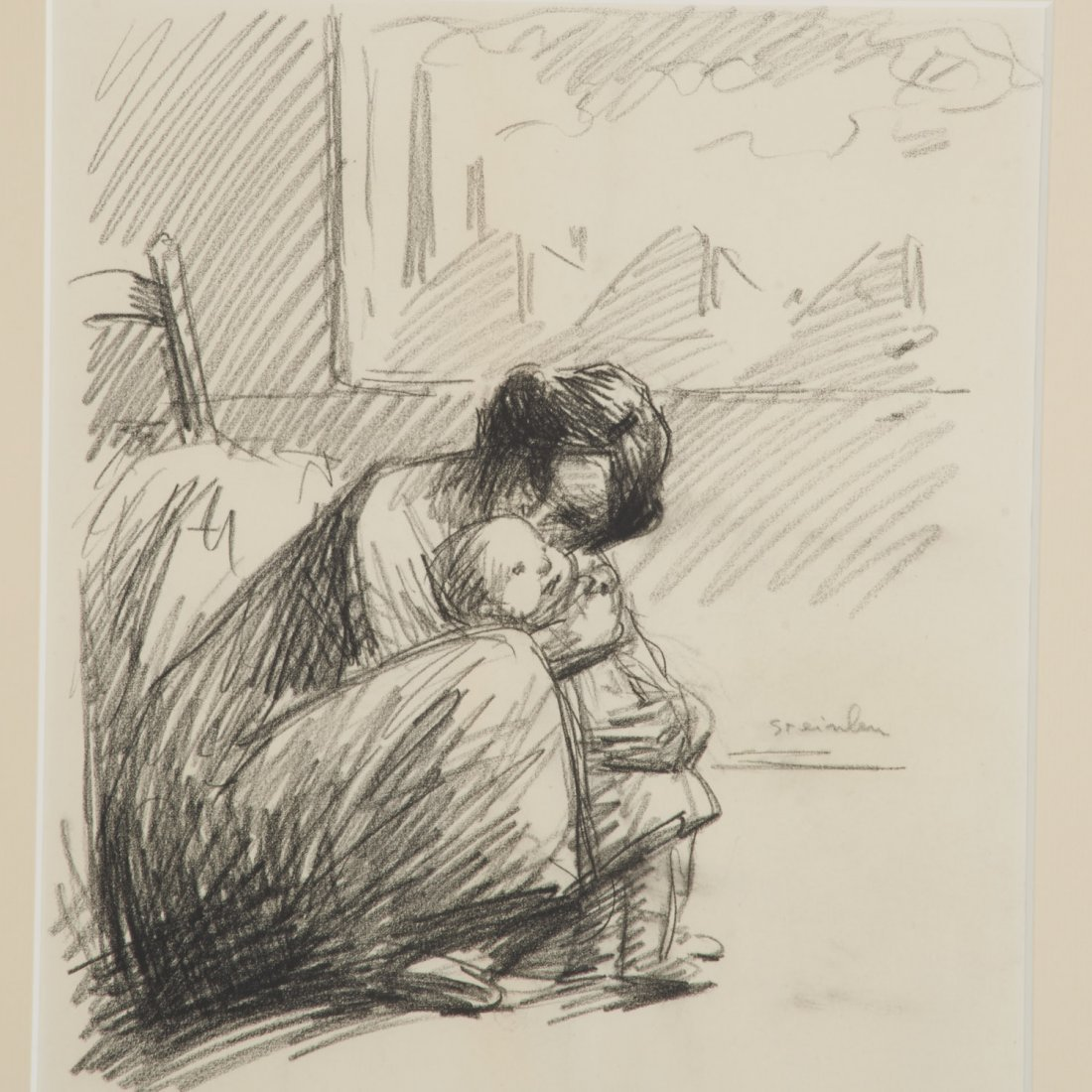 Theophile Alexandre Steinlen, drawing - 2