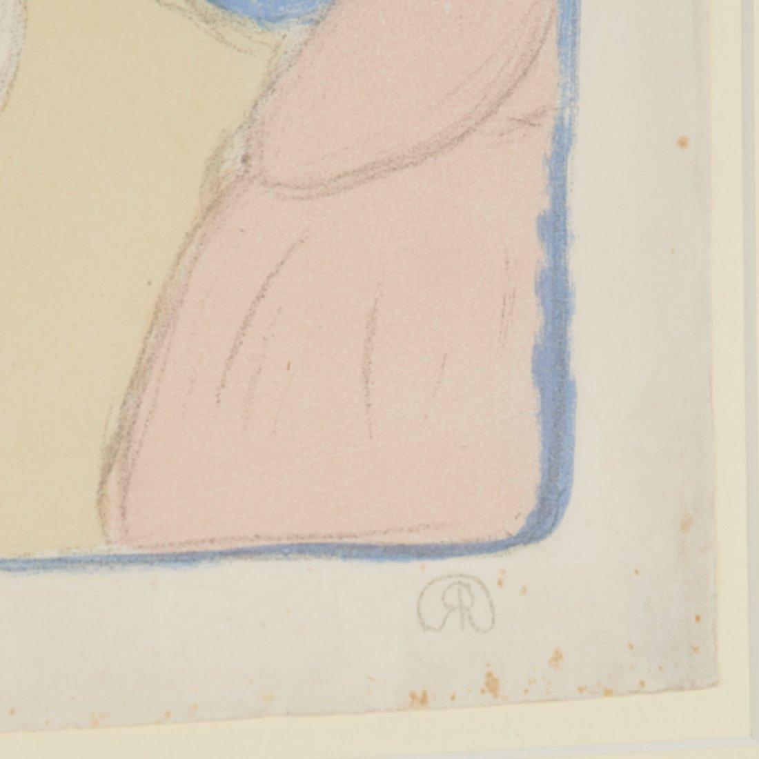 Jozsef Rippl-Ronai, color lithograph - 5