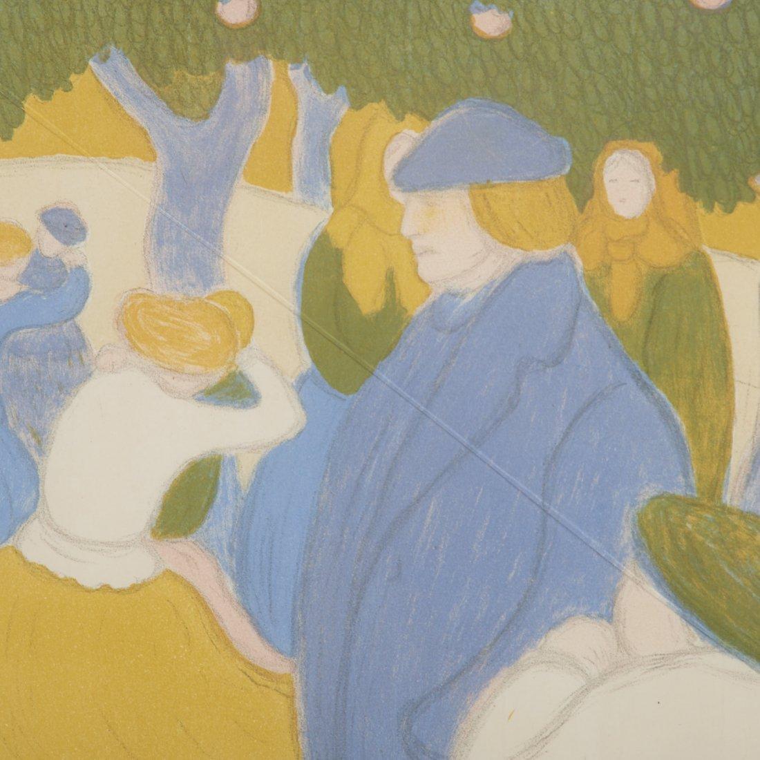Jozsef Rippl-Ronai, color lithograph - 6
