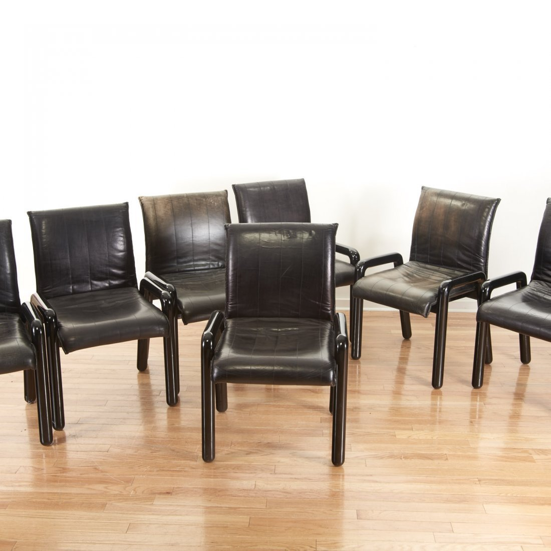 "Set (8) Guido Faleschini ""Dilos"" Dining Chairs"