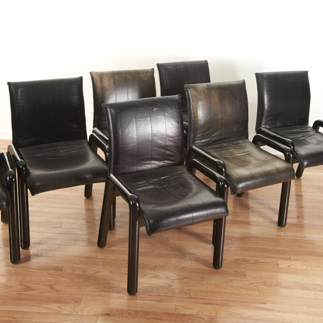 "Set (8) Guido Faleschini ""Dilos"" Dining Chairs - 2"