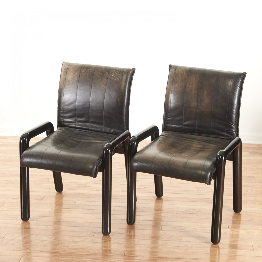 "Set (8) Guido Faleschini ""Dilos"" Dining Chairs - 3"