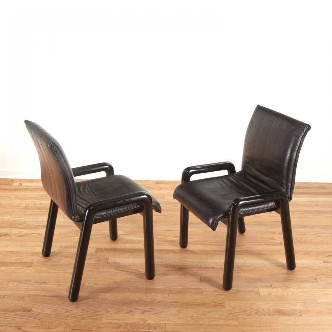 "Set (8) Guido Faleschini ""Dilos"" Dining Chairs - 5"