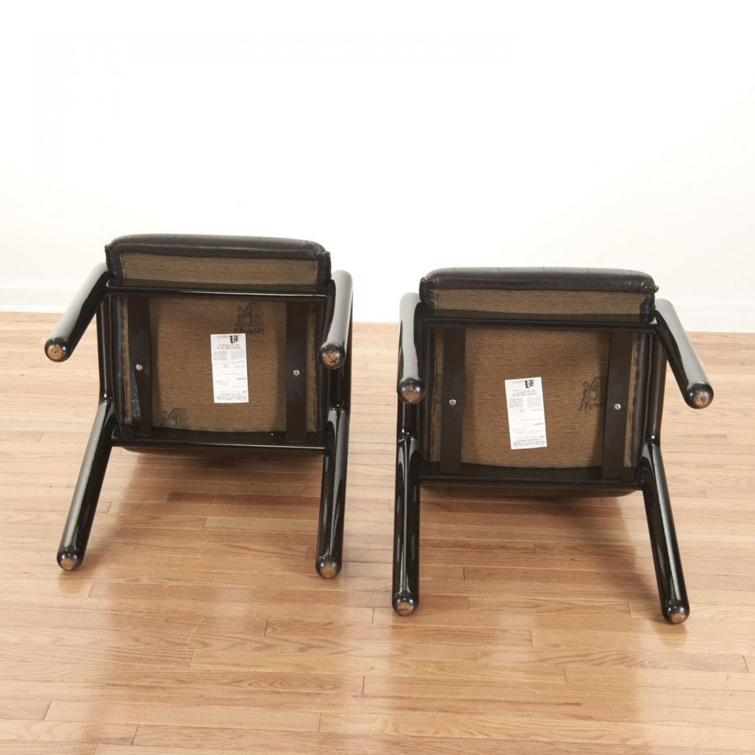 "Set (8) Guido Faleschini ""Dilos"" Dining Chairs - 7"
