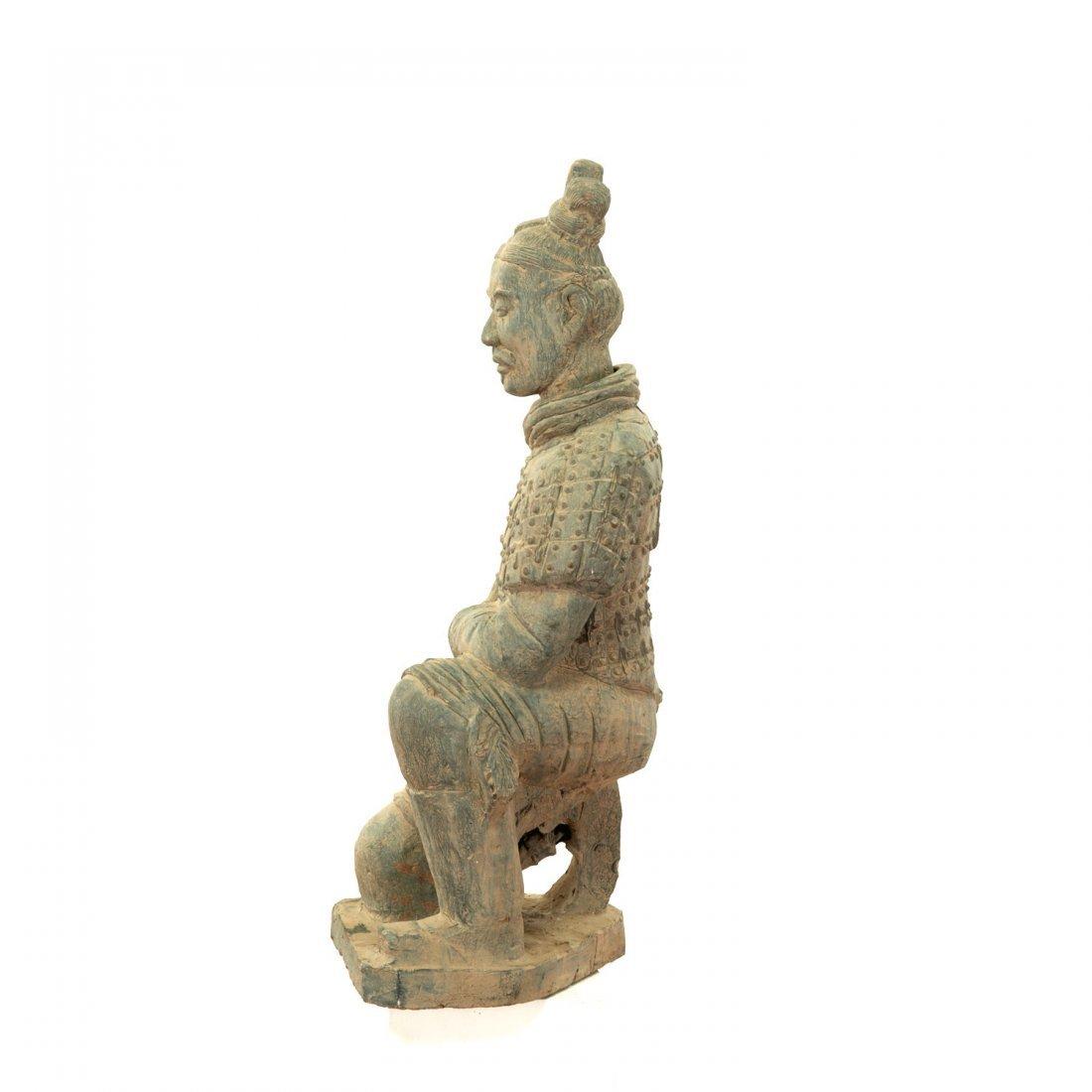 Near life-size Xian style terra-cotta warrior - 3