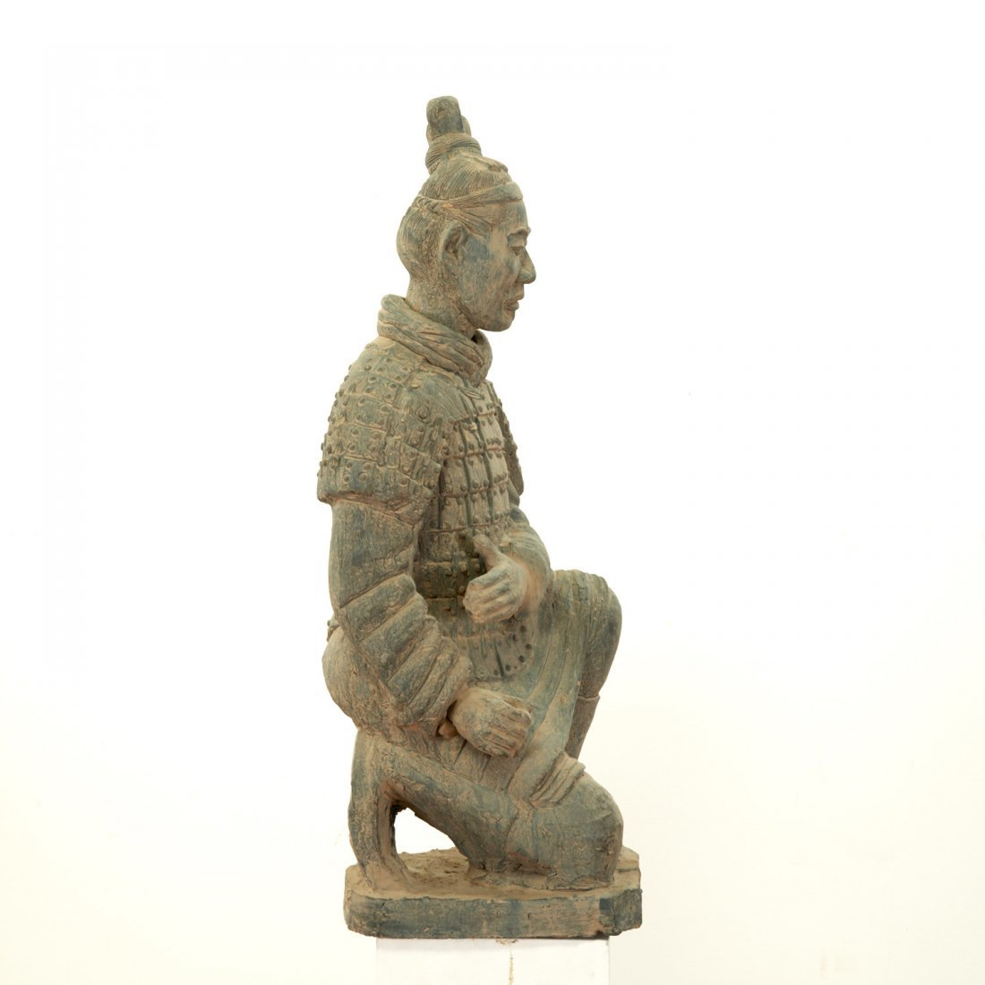 Near life-size Xian style terra-cotta warrior - 5