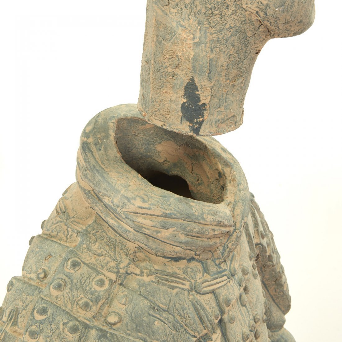 Near life-size Xian style terra-cotta warrior - 6