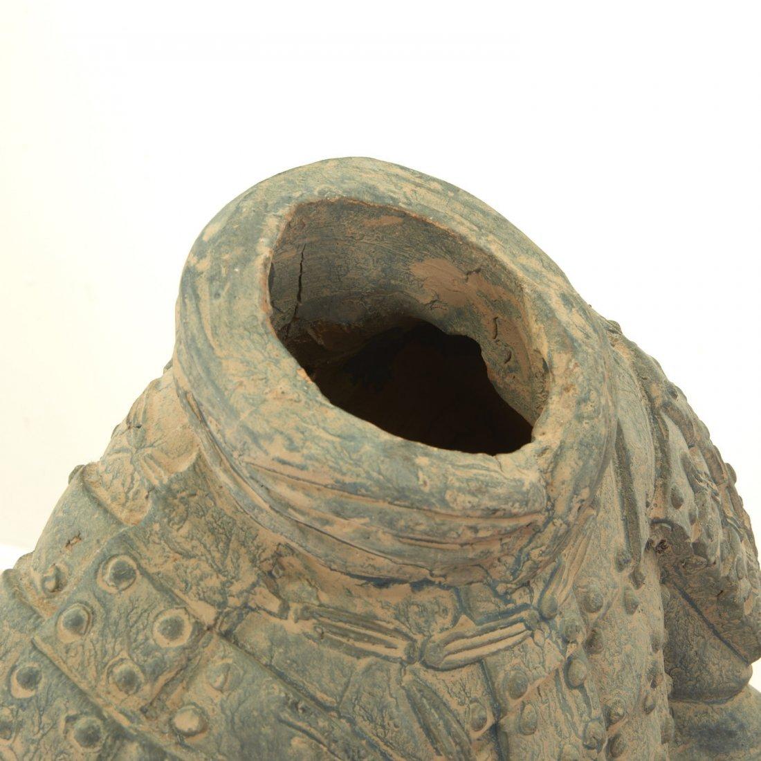 Near life-size Xian style terra-cotta warrior - 7