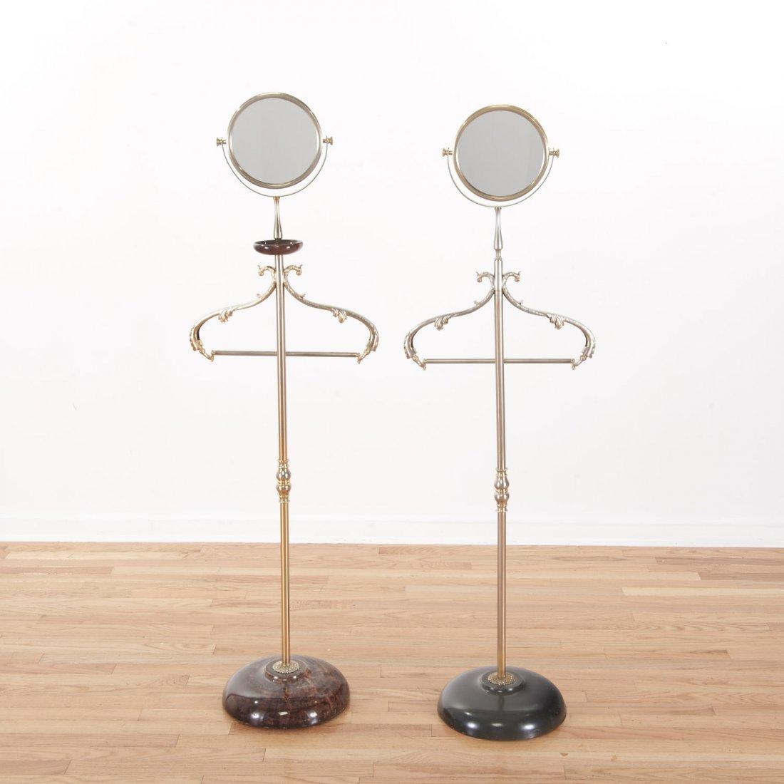 Aldo Tura lacquer, parchment valet/vanity stands - 7