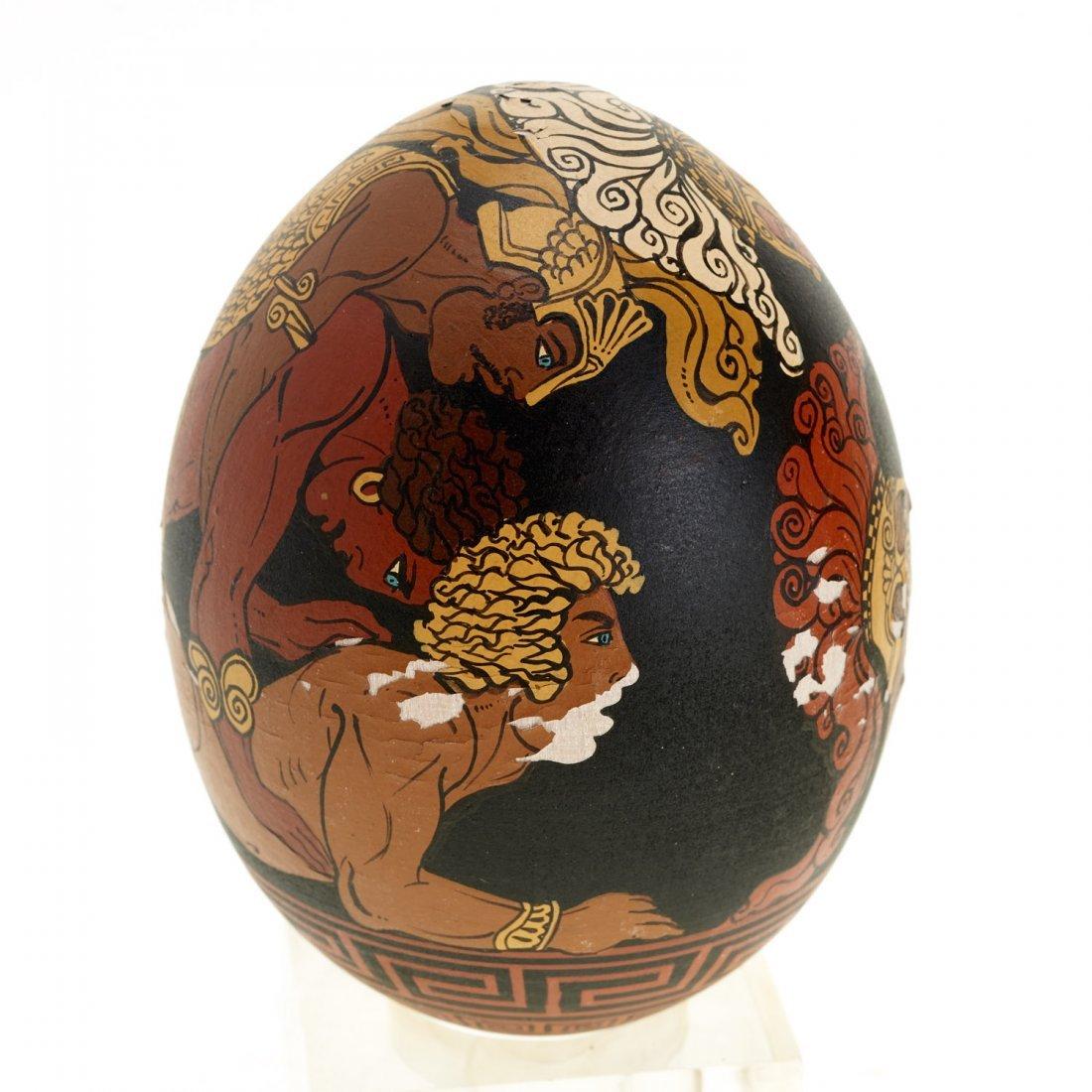 Yiannis Nomikos, homoerotic painted eggs - 2