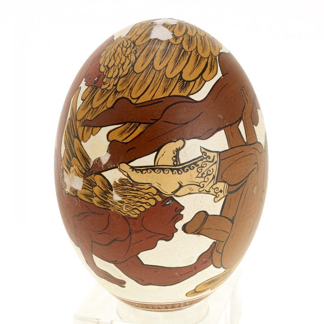 Yiannis Nomikos, homoerotic painted eggs - 3