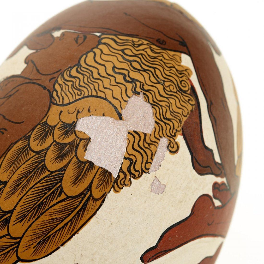 Yiannis Nomikos, homoerotic painted eggs - 5
