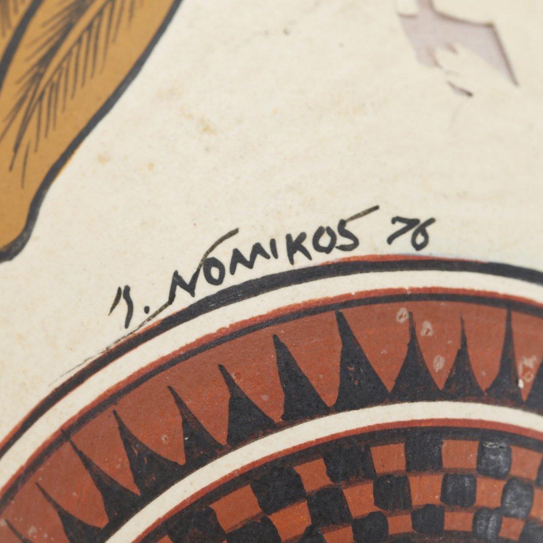 Yiannis Nomikos, homoerotic painted eggs - 7