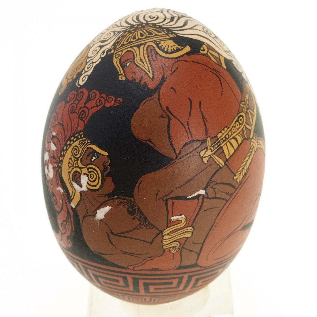 Yiannis Nomikos, homoerotic painted eggs - 8