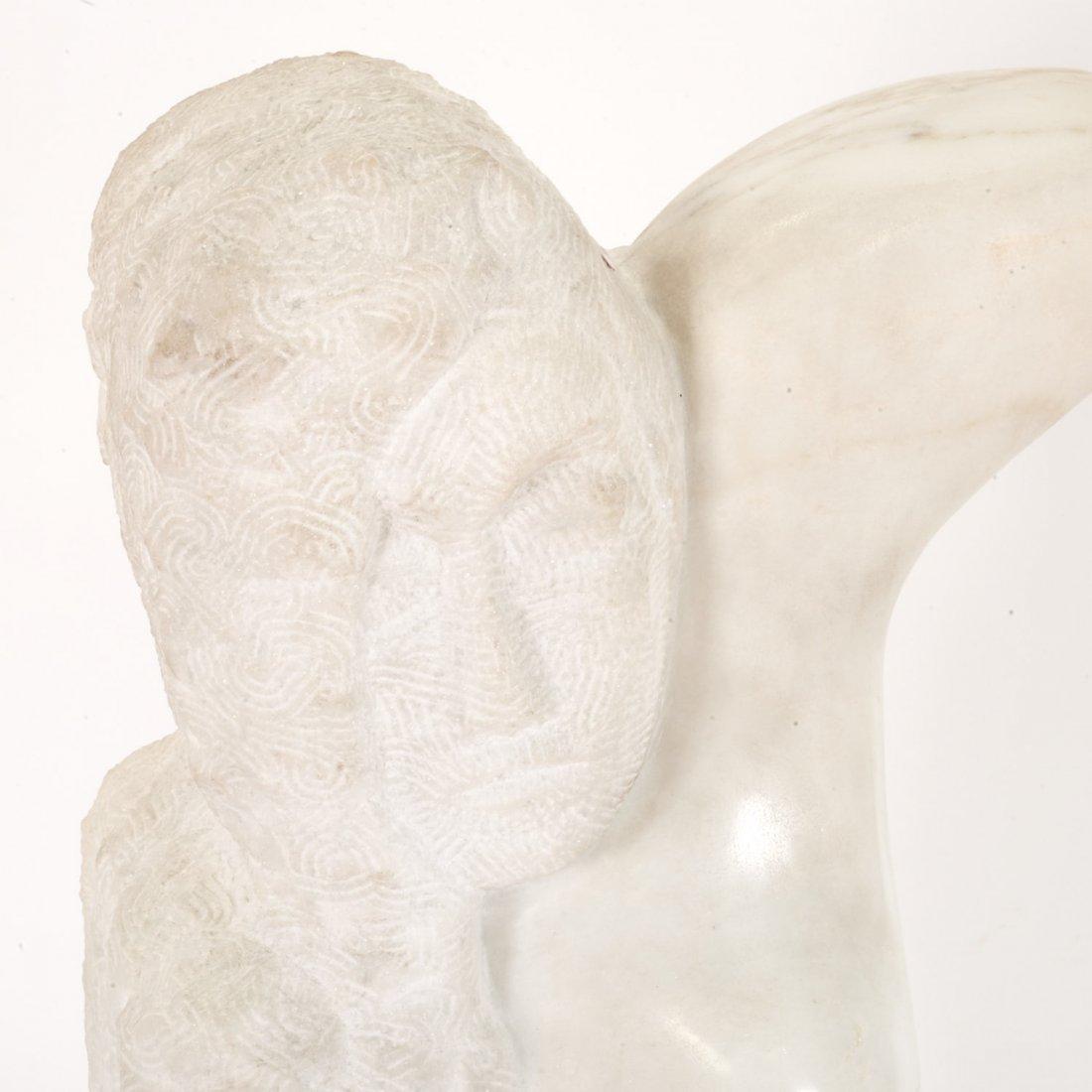 After William Zorach, marble sculpture - 2