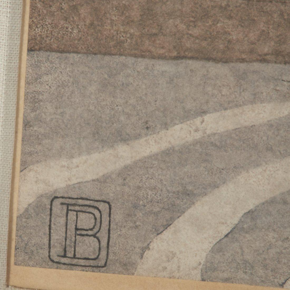 Peter Behrens, woodcut - 5
