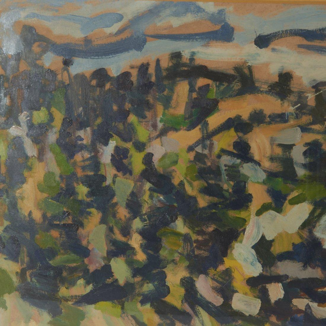 Allen Wolf, painting - 3