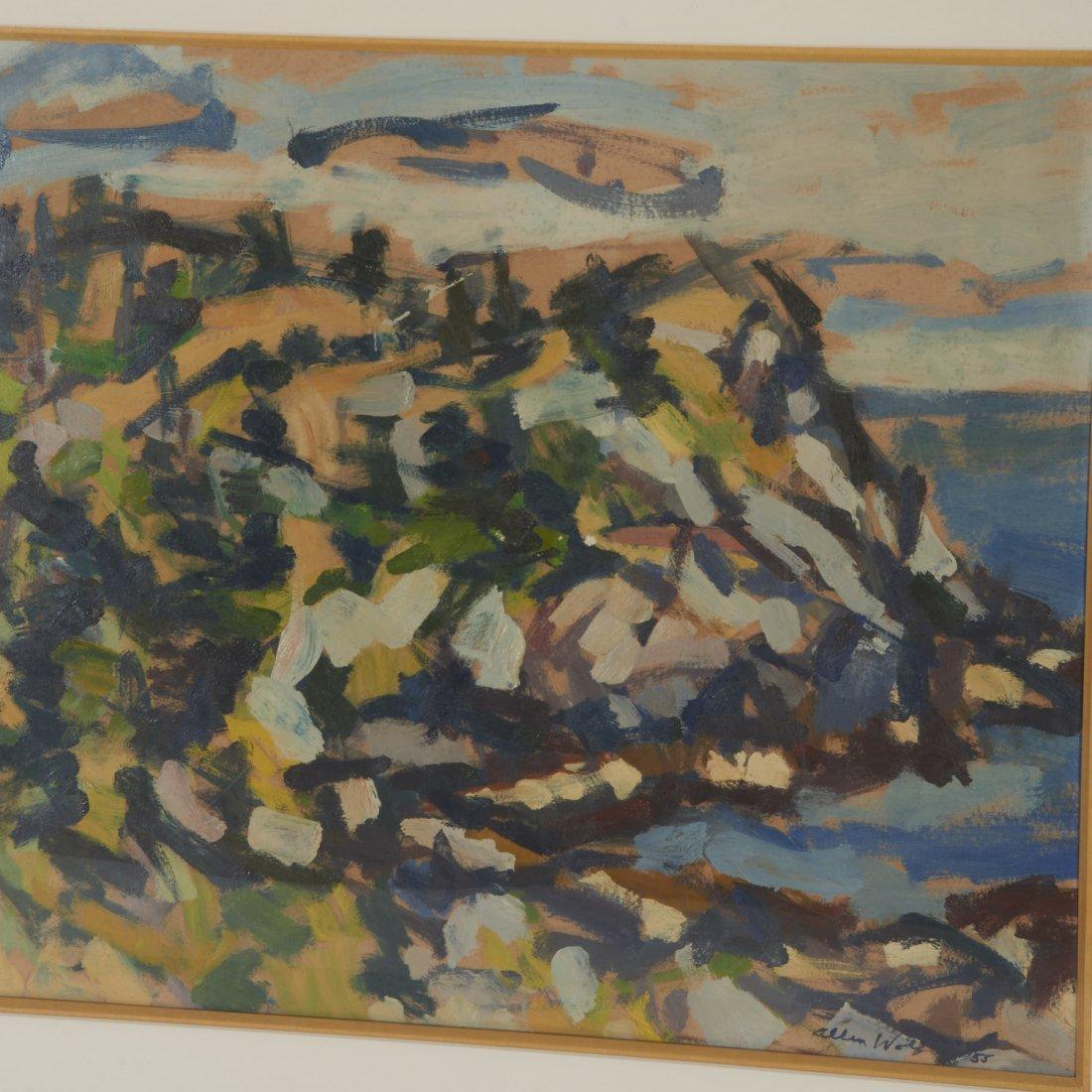 Allen Wolf, painting - 4
