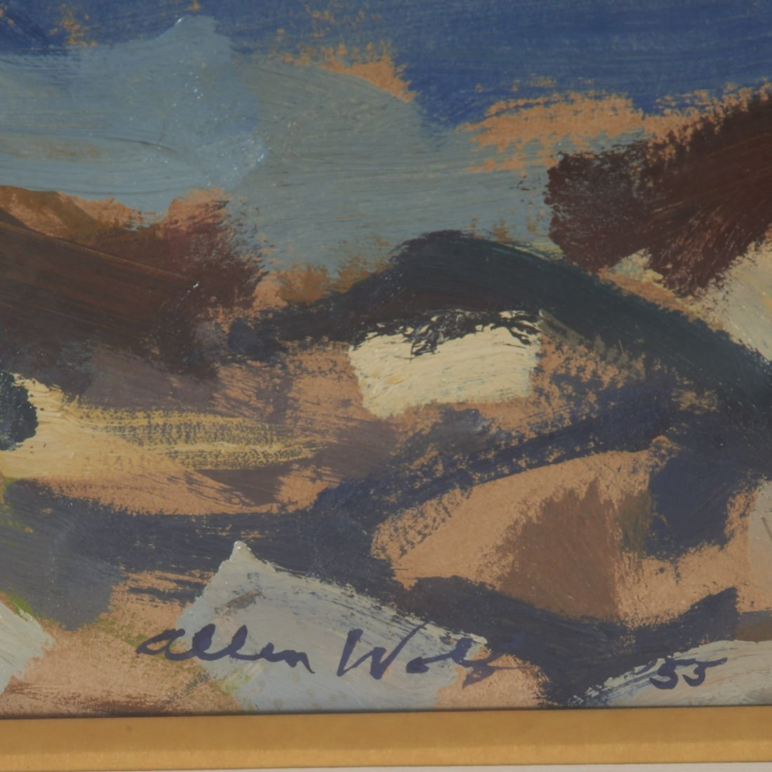 Allen Wolf, painting - 5