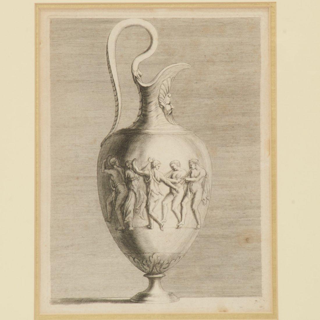 Pair Roman Antiquity engravings after Piranesi - 2