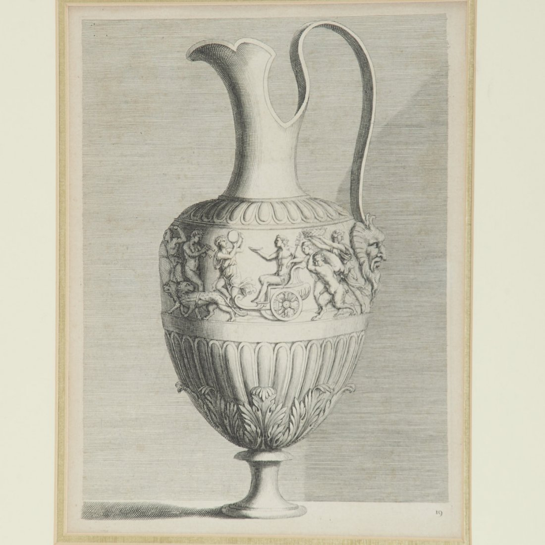 Pair Roman Antiquity engravings after Piranesi - 4