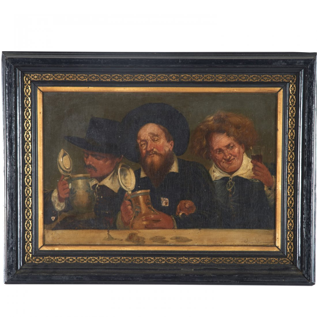 Girard Breyson, painting