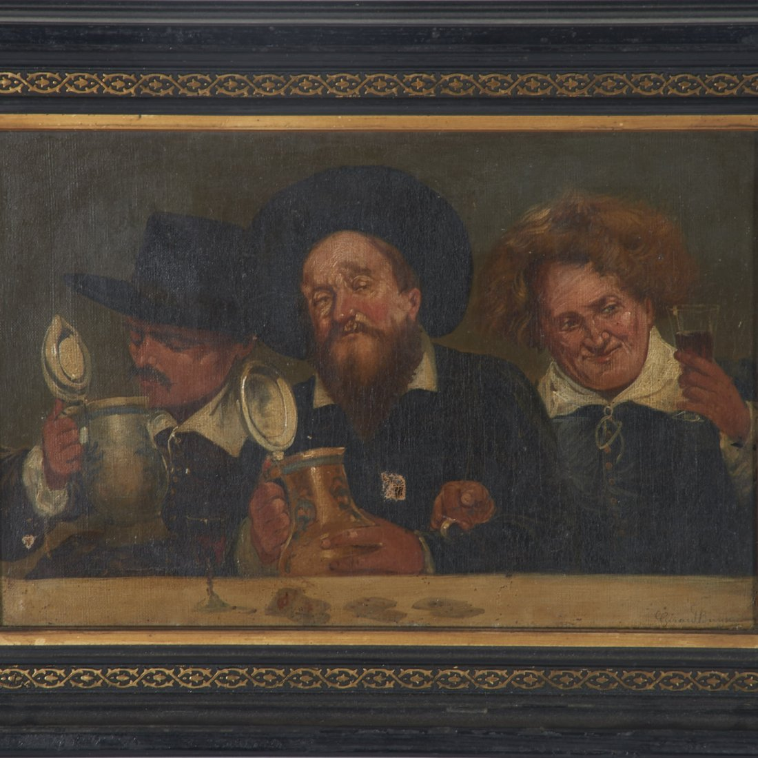 Girard Breyson, painting - 2