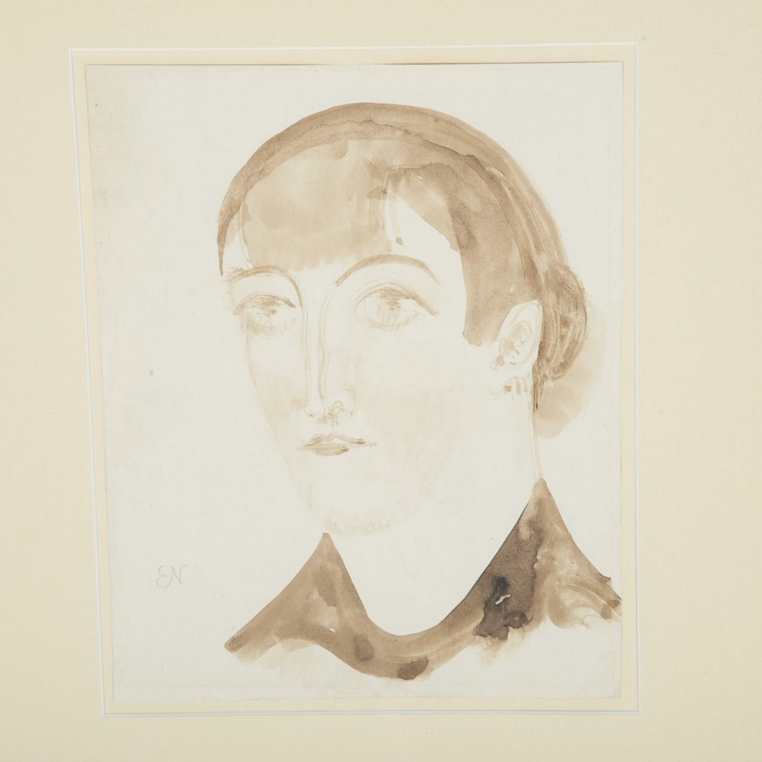 Attr. Elie Nadelman, drawing - 2