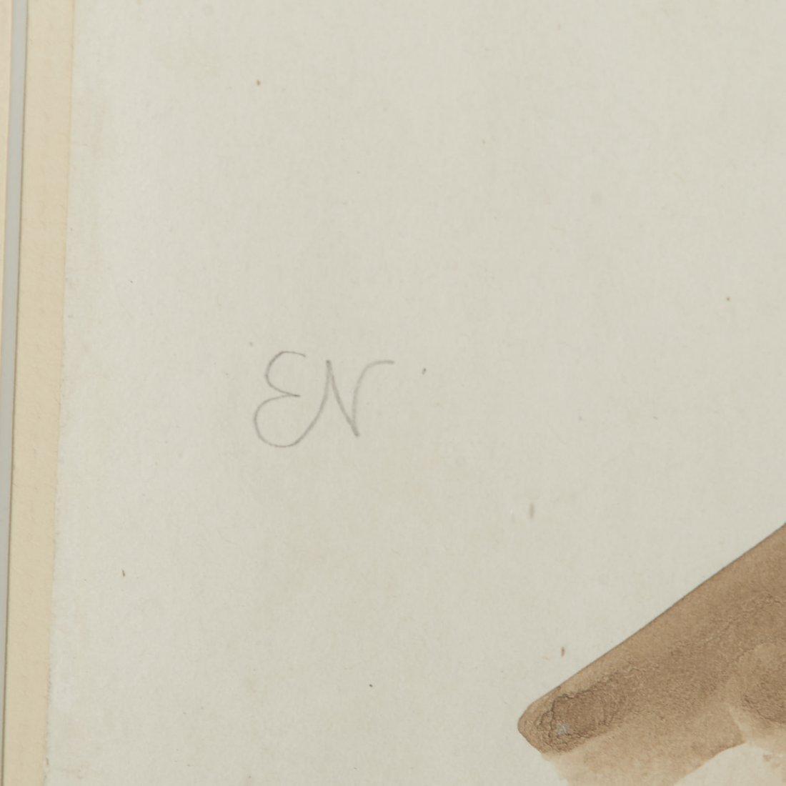 Attr. Elie Nadelman, drawing - 3