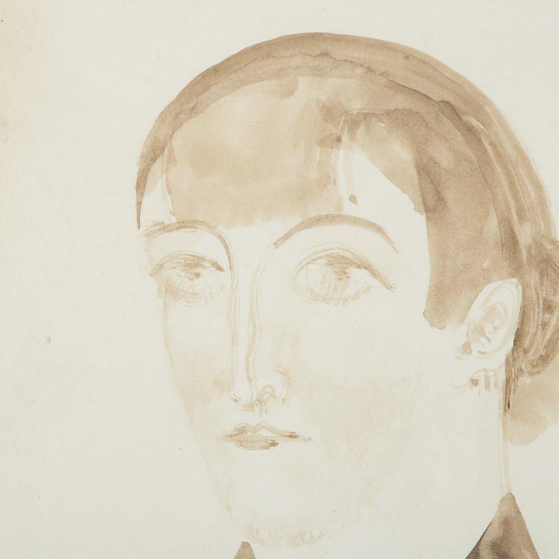 Attr. Elie Nadelman, drawing - 5