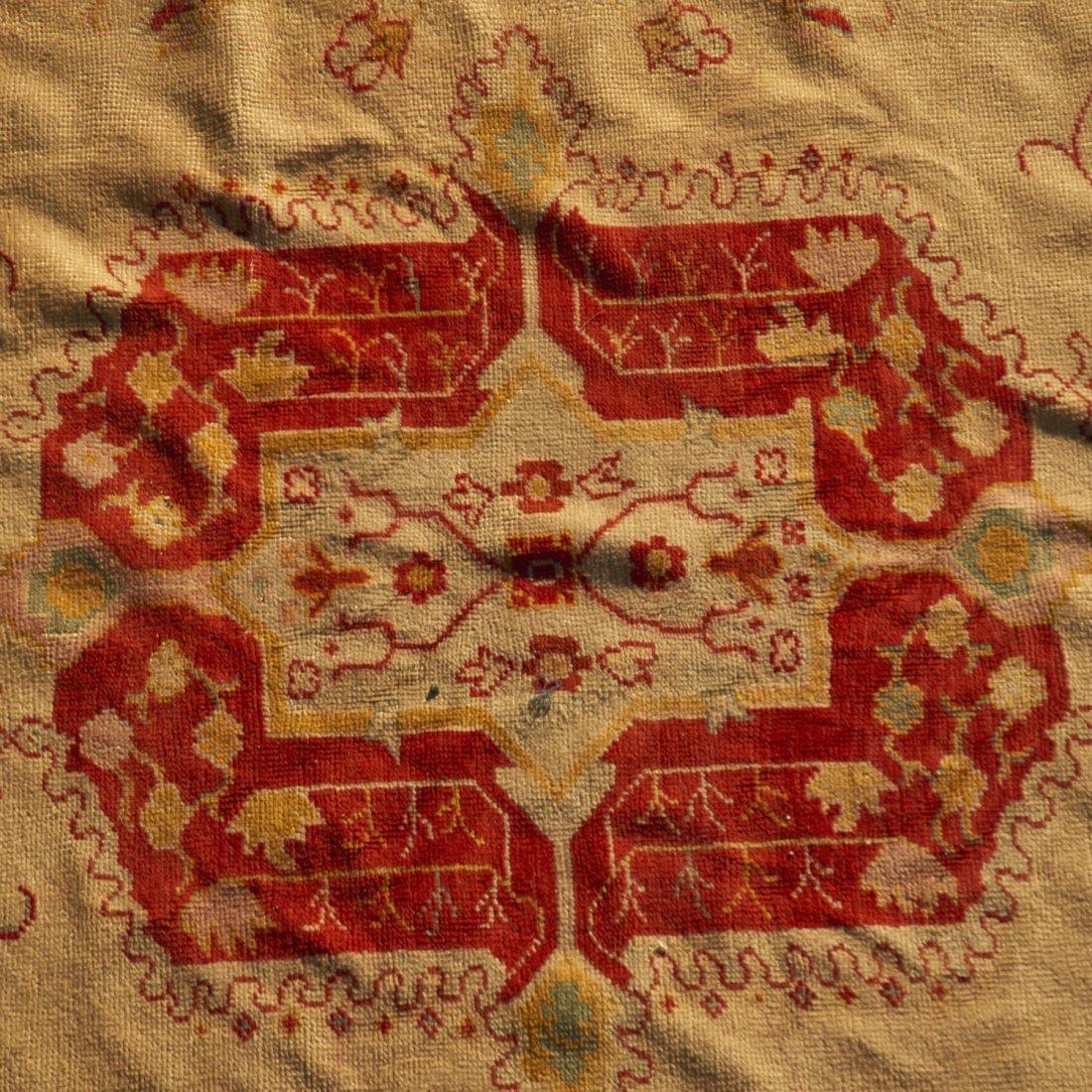 Room-size Oushak carpet - 2