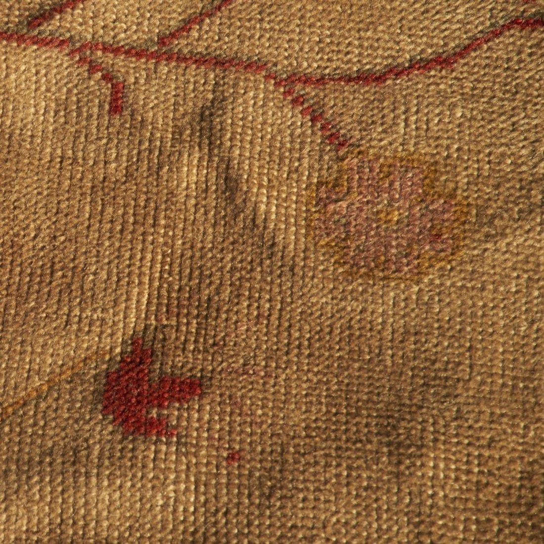 Room-size Oushak carpet - 3